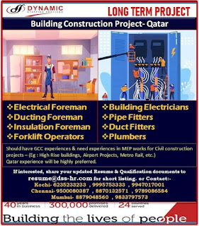 Building Construction Project in Qatar