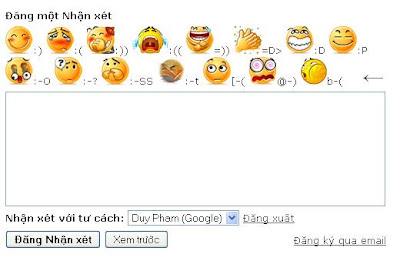 Emoticons for Blogspot (work in IE)