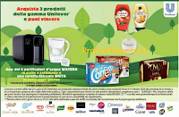 Logo Concorso Conad One - Unilever : vinci Caraffe filtranti Brita e purificatori d'acqua Watero