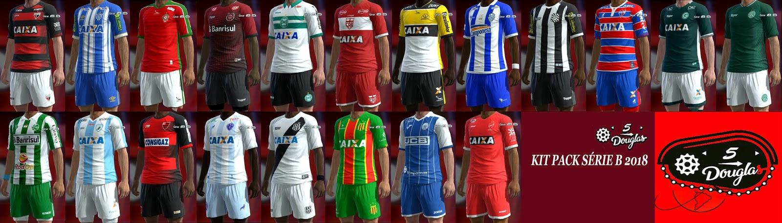 PES 2013 Brasileirão Série B Kit Pack FULL 2018
