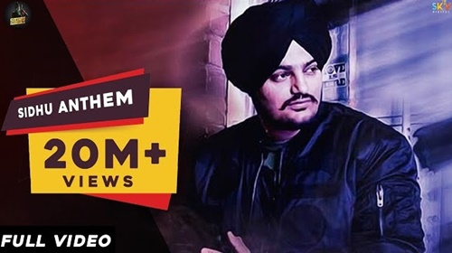sidhu anthem lyrics