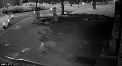 CCTV Shows Alleged Murderer Dragging A Suitcase Containing His Ex-gf's Dead Body