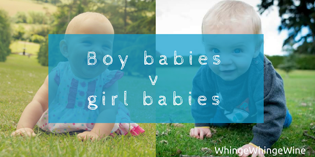 Boy babies v girl babies: The difference between the sexes at an early age