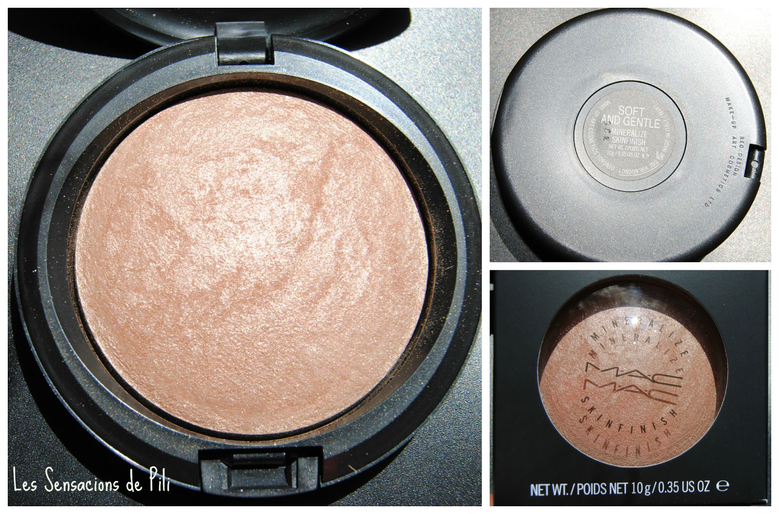 Iluminadores Mac Les Sensacions De Pili Mineralize Skinfinish Soft And
