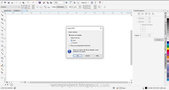 Beberapa Cara Membuka File Adobe Illustrator Di Coreldraw Wsm Project