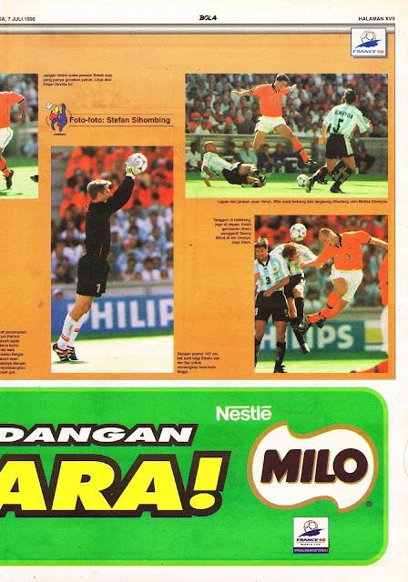WORLD CUP 1998 ARGENTINA VS HOLLAND NETHERLAND PHOTOS