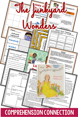 Junkyard Wonders is a great mentor text for many comprhension skills and for writing. Bullying is the central theme
