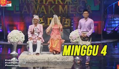 Tonton Maharaja Lawak Mega 2019 Minggu 4 Full MLM