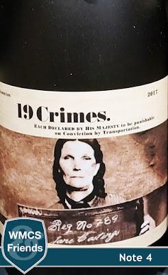19 Crimes Chard South Australia 2017