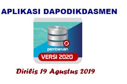 Rilis Aplikasi Dapodikdasmen Versi 2020