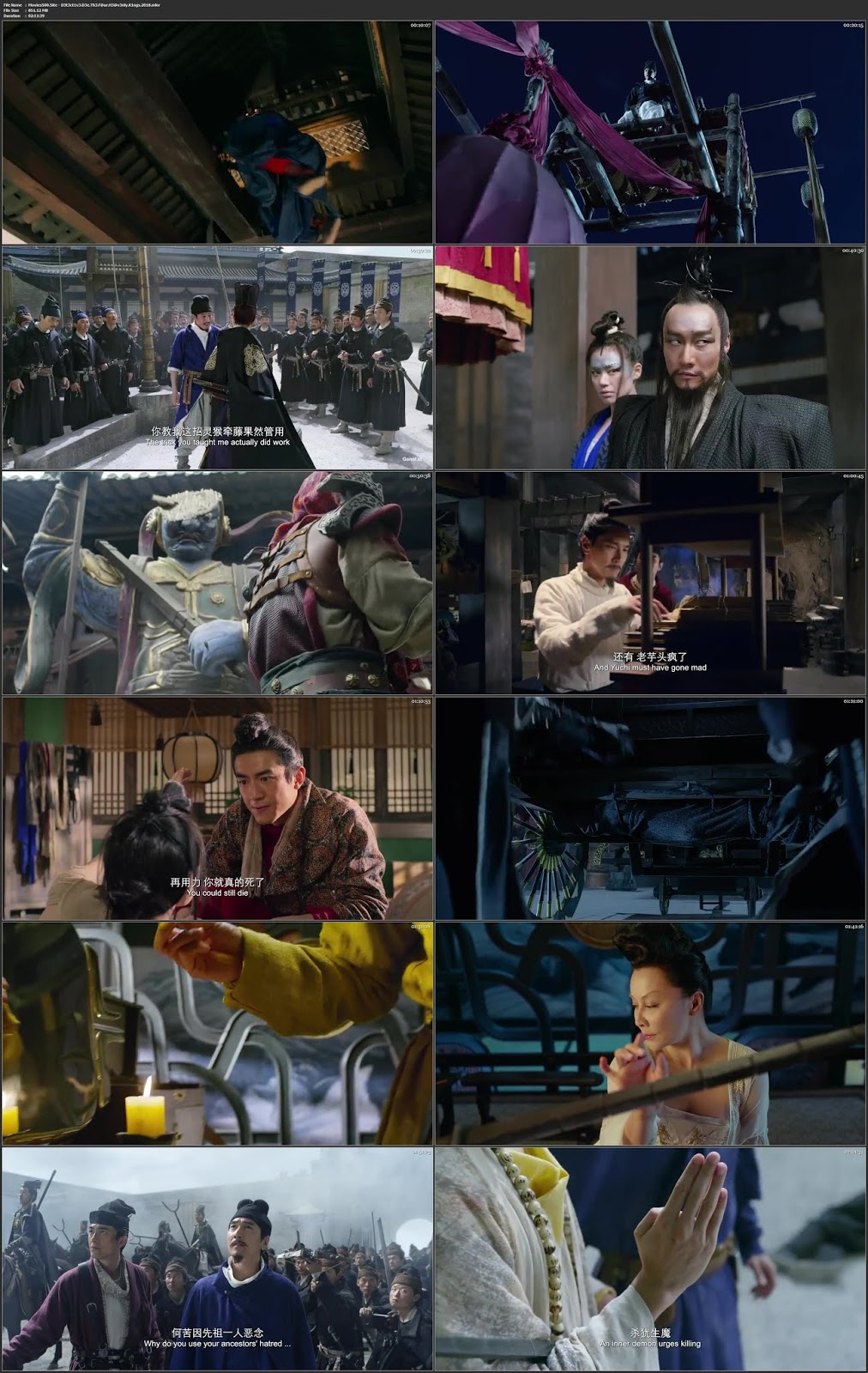 Detective Dee: The Four Heavenly Kings 2018 Full Movie WEB DL 720p