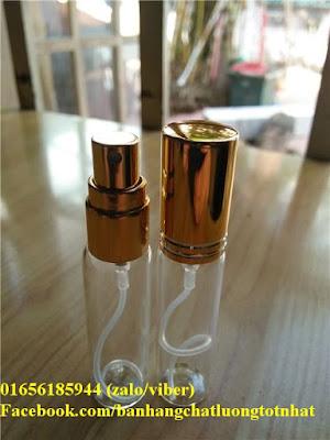 Chai chiết nước hoa thủy tinh 10ml