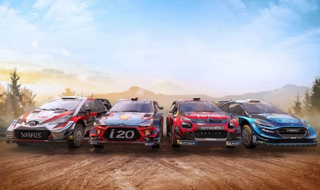 WRC 9 launcher for Switch