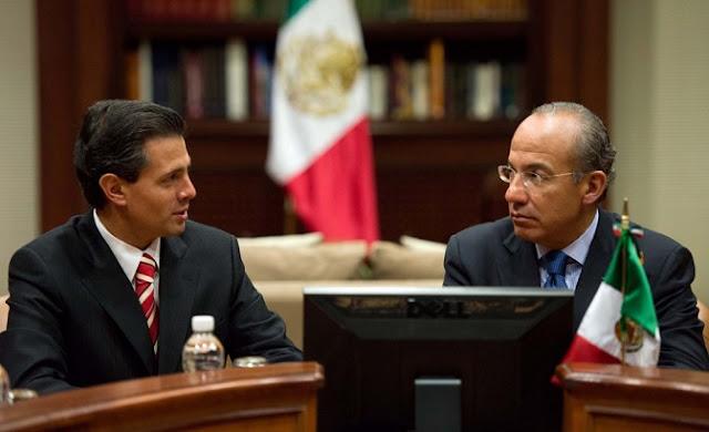 Peña Nieto y Calderón, oficinas