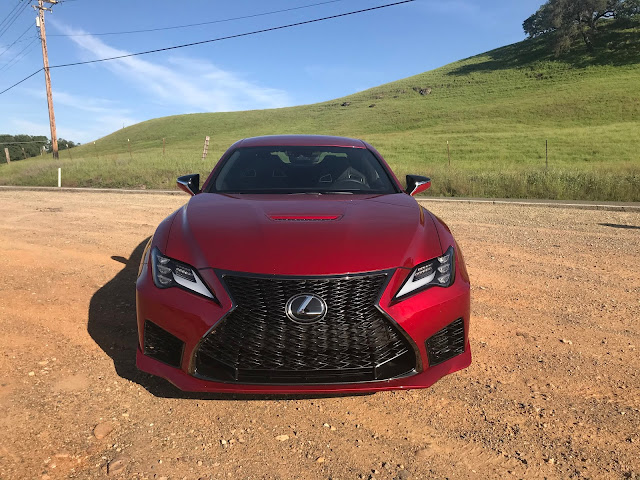 Front view of 2020 Lexus RC-F