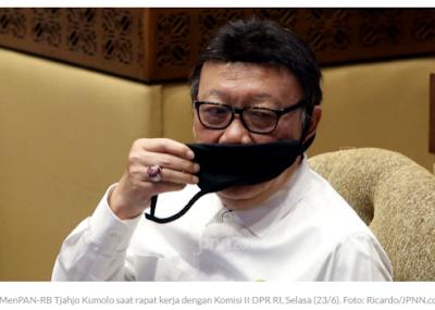 MenPAN-RB Tjahjo Kumolo Beber Masalah PNS Tenaga Administrasi, Sungguh Berat