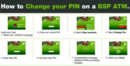 Bsp pin change