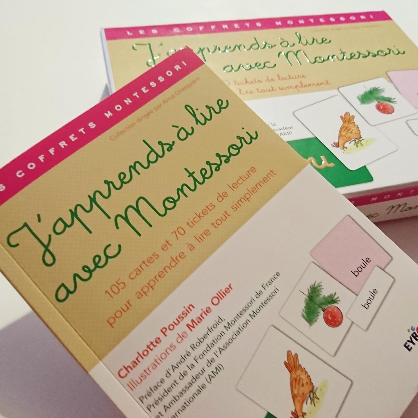 J'apprends à lire avec Montessori