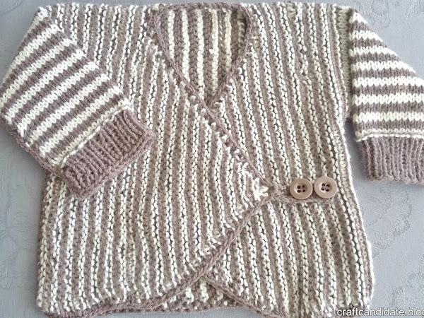 Vauvan nuttu / kietaisutakki - Baby's coat / jacket