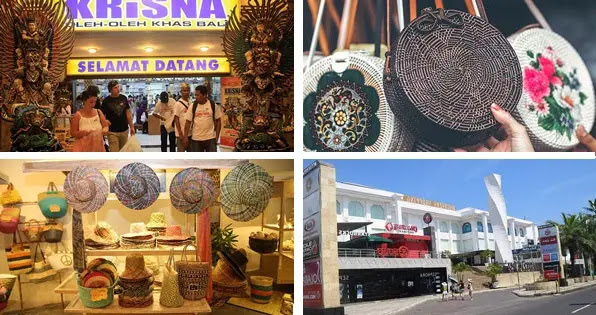 Sightseeing and shopping at the traditional handicraft village bali, indonesia