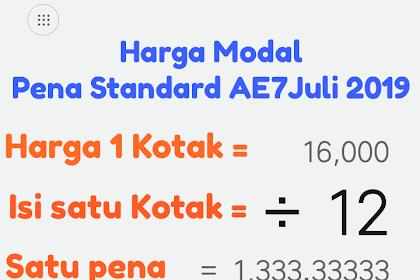 Beli Pena Standard AE7 nawar Seribu, contoh Pelemahan Ekonomi