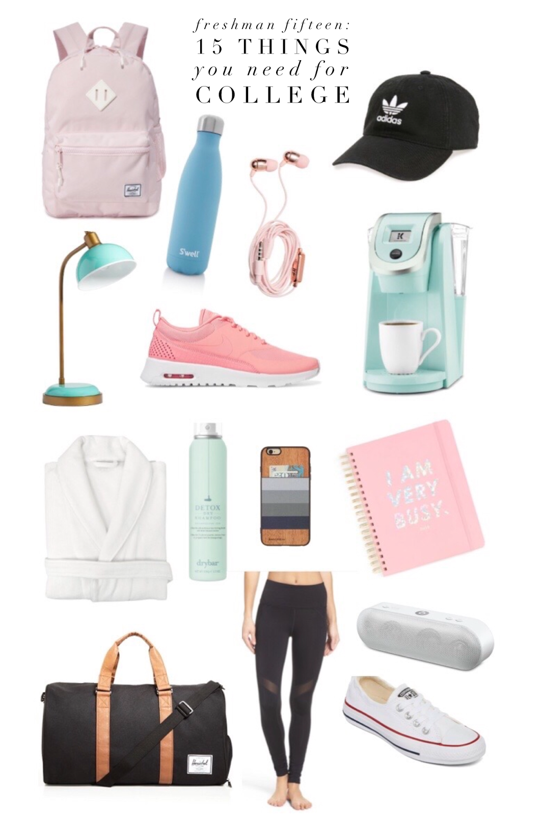 things for college