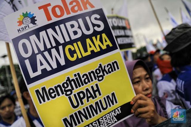 Politik Pemerintah Tak Setuju Usulan DPR Terkait Perubahan Nama RUU Cipta Kerja