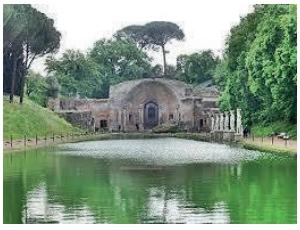 A Vila de Adriano em Tivoli