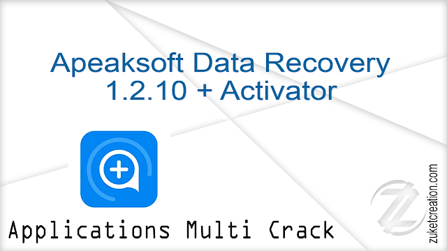 Apeaksoft Data Recovery 1.2.10 + Activator