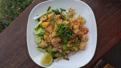 Gebratener Reis - Khao Pad - ข้าวผัด