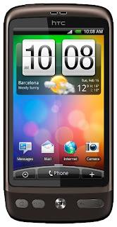 HTC Desire, Desire HD и Desire Z будут обновлены до Android 2.3 Gingerbread