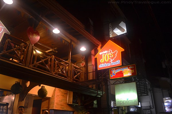 Some restaurants and inns in Rizal Boulevard