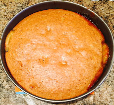 Cake will produce it's own delicious sweet caramel that seems indulgent but is perfectly on plan.