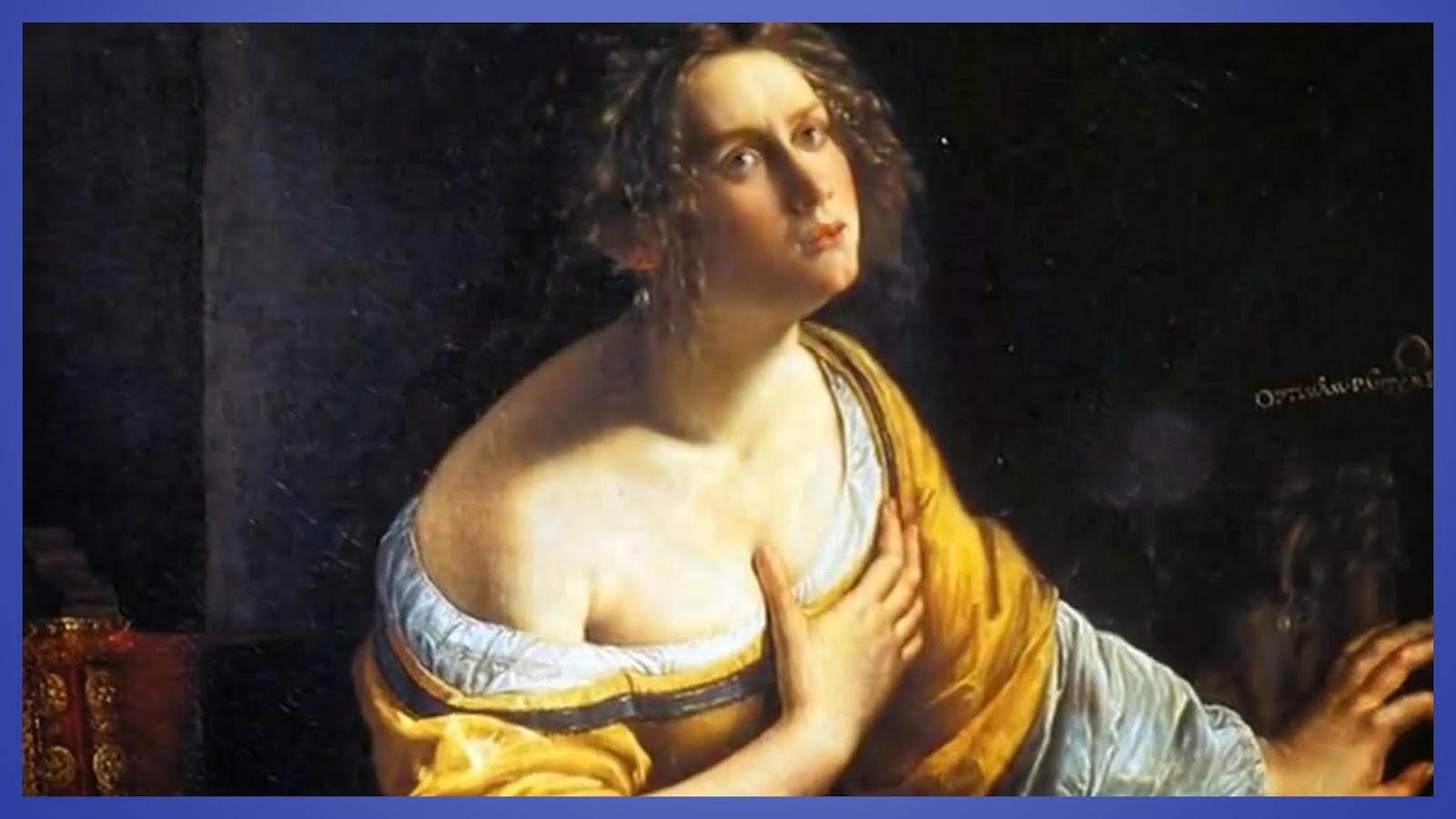Re -Train Your Brain To Happiness: Artemisia Gentileschi