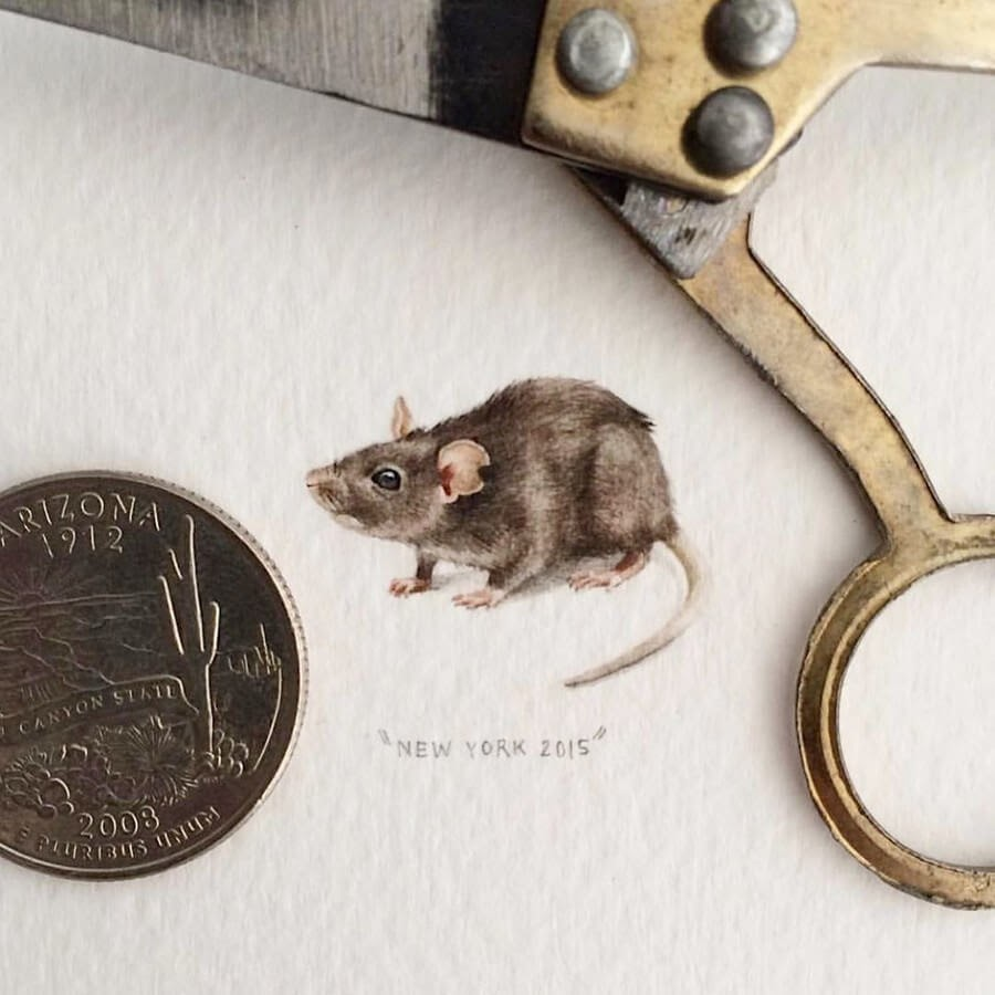 05-Year-of-the-Rat-Lorraine-Loots-Tiny-Art-www-designstack-co