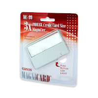 small magnifier, magnifying card, magnifier for elderly person