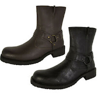 Resolve By Robert Wayne Mens Griff Harness Boot Shoes