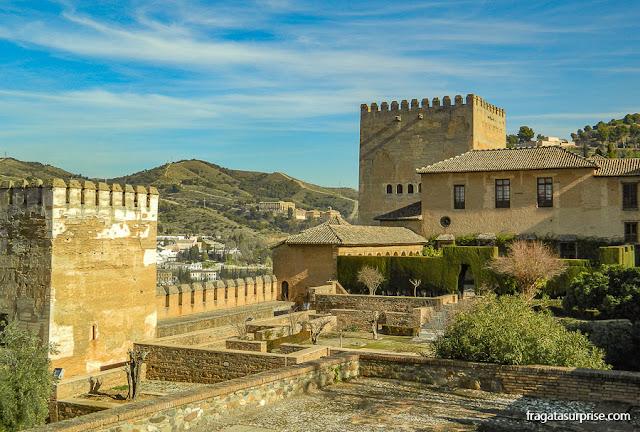 Mexuar, acesso aos Palácios Násridas da Alhambra de Granada