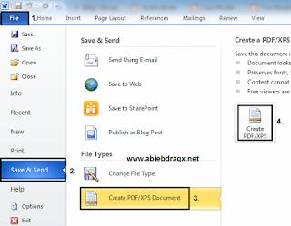 Cara Mudah Convert File Microsoft Word ke File PDF