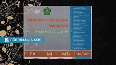 Download Panduan dan Pedoman Kerja Kepala Madrasah/ KAMAD di Masa Pandemi Covid-19 I PDF
