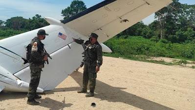 Venezuela neutraliza aeronave de EE UU