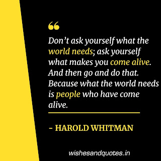 motivational quotes positive harold whitman