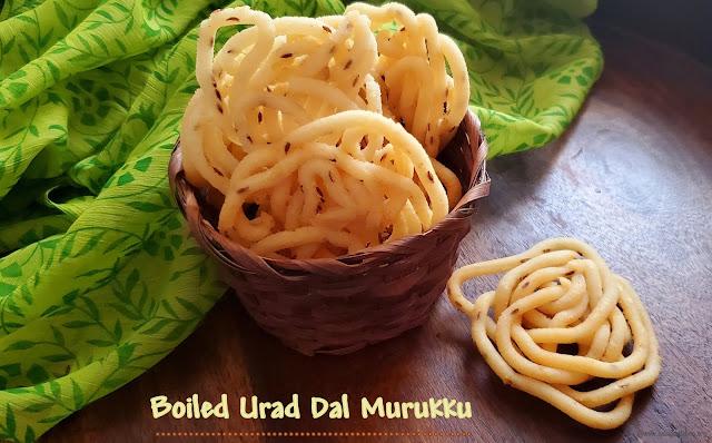 images of Boiled Urad Dal Murukku / Urad Dal Murukku / Cooked Urad Dal Murukku / Minapa Pappu Jantikalu