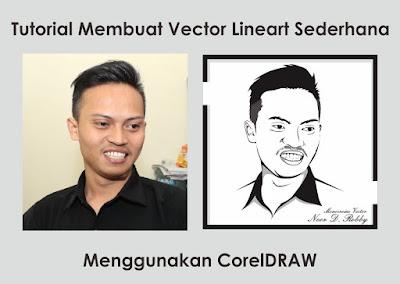Tutorial Membuat Vector Lineart Sederhana Menggunakan CorelDRAW