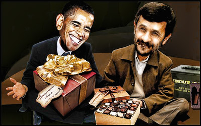 Obama y Ahmadinejad