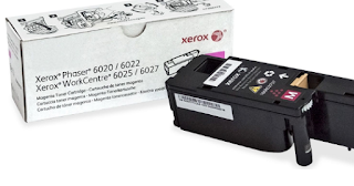 Magenta toner cartridges for Xerox WorkCentre 6027