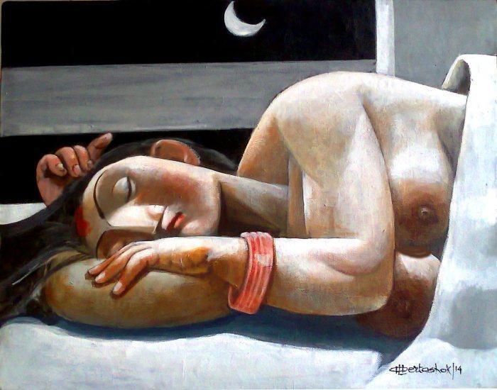 Индийский художник. Albert Ashok