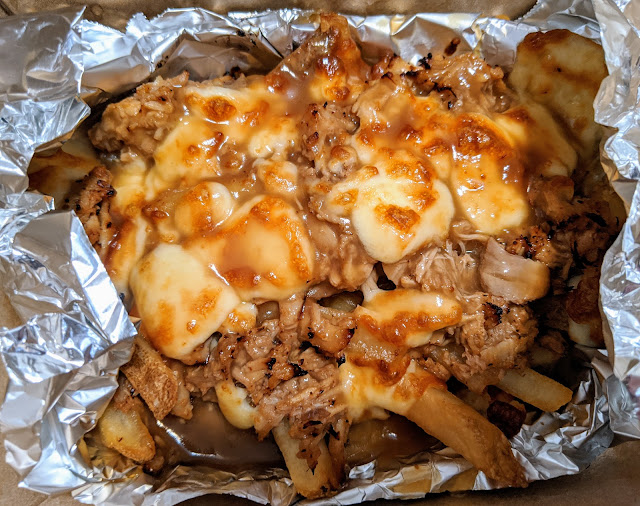 Poutine with Pulled Pork