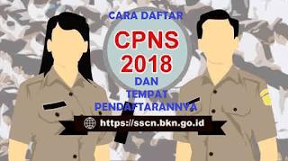 Tempat dafyat CPNS 2018