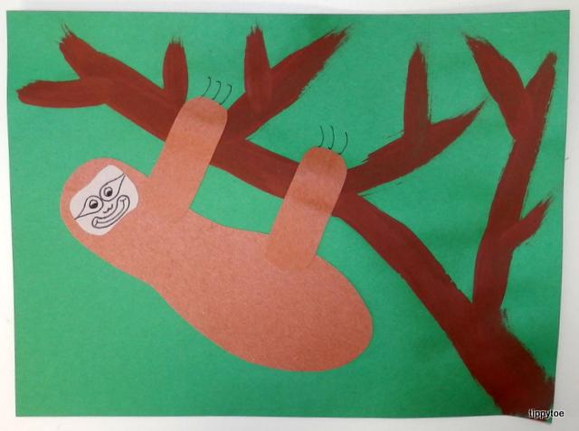 Sloth Craft Pinterest
